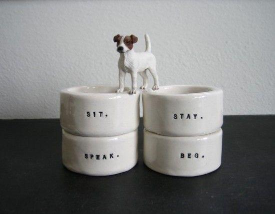 Dog Themed Napkin Rings