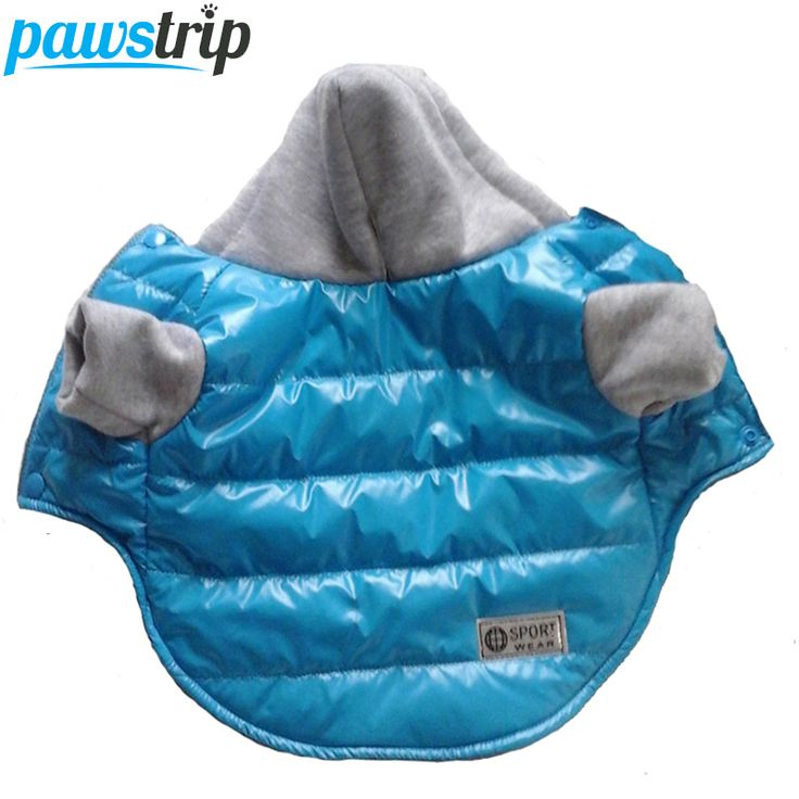 5 Colors Winter Pet Dog Jacket Coat Thickening Warm Puppy Dog Clothes With Hood Size 8-18 //Price: $10.72 & FREE Shipping //     #hashtag2