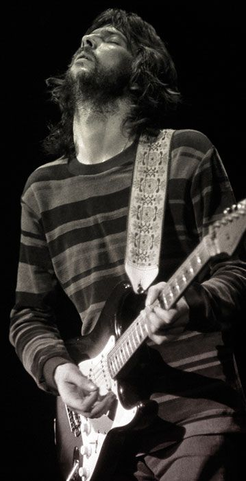 Picture of Eric Clapton — Love that photo, pure emotion. Derek & The Dominos.