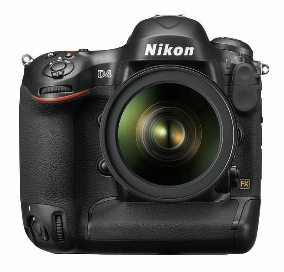 「ニコン D4」発表、ついにデジタル一眼レフカメラ次世代フラッグシップモデル登場 - GIGAZINE