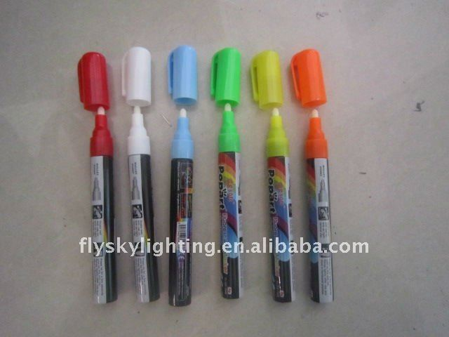4mm fluorescent pen for led writing board $1