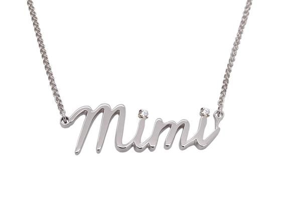 Platinum Name Necklace Solid 950 Platinum Necklace Jewelry Necklace Etsymktgtool Platinum Platinumnam Platinum Jewelry Handwriting Jewelry Name Necklace