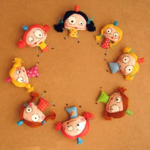 children's wreath' cute and just plain fun to do