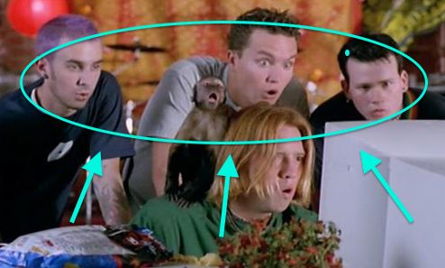 "And the only real reason you saw ""American Pie,"" was for the band cameo. 