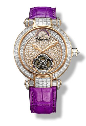 Chopard - IMPERIALE Watch - 18-carat rose gold - amethysts