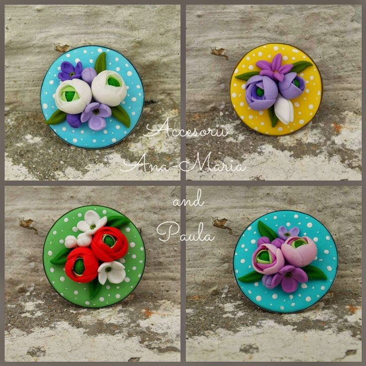 Handmade by Ana-Maria and Paula: Bucheţele de flori pastelate