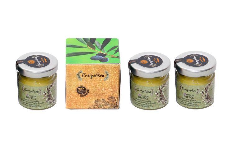 3 x Cold Symptoms' Relief Cream with Eucalyptus essential oil 40ml. #Evergetikon