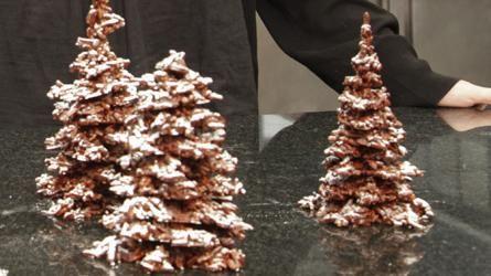 Un sapin de noël en chocolat façon Patrick Roger