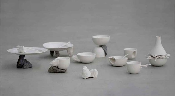 \ Piling Eating\  stone tableware collection by Ying-Jung Lu \u0027 & 19 best DECO MARBRE images on Pinterest | Marble Marbles and Sculptures