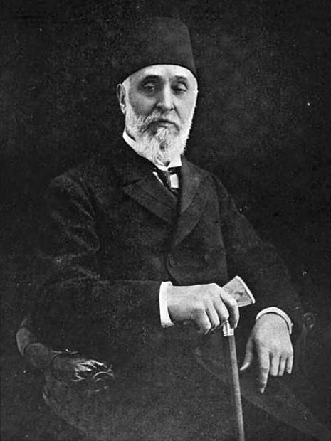 Ahmed Tevfik Pasha (11 February 1845 – 8 October 1936) (Ottoman Turkish: احمد توفیق پاشا, Ahmet Tevfik Okday after the Surname Law of 1934) was the last Ottoman grand vizier.[1] Ahmed Tevfik Pasha held office four times, from 13 April 1909 to 5 May 1909 under Abdulhamid II, and then under Mehmed V Reşad. His two other terms of office were 11 November 1918 - 3 March 1919, and 21 October 1920 - 4 November 1922.