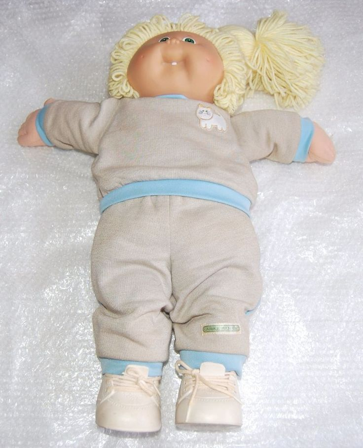 VINTAGE COLECO 1985 CABBAGE PATCH DOLL - WITH CLOTHING - XAVIER ROBERTS