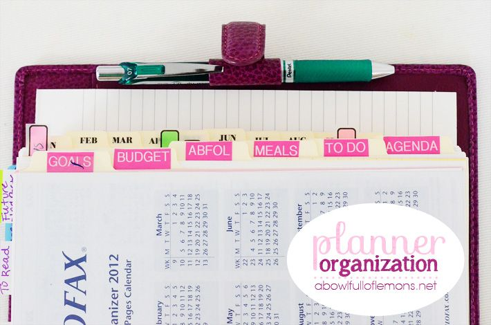 ABFOL planner organization 10
