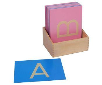 Smirková písmena -velká tiskací ( s krabičkou)