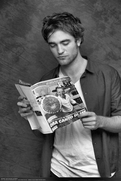 An Ode to Robert Pattinson on this, the day of his fourth film as a sparkly vegetarianvampire - Half Price Books Blog - HPB.com