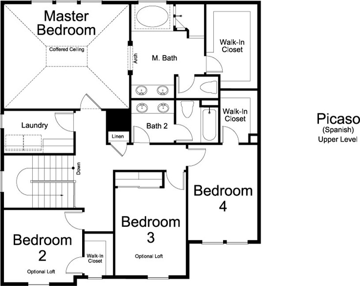 Floor Plan Ivory Home Picaso Spanish Ivory Homes Floor