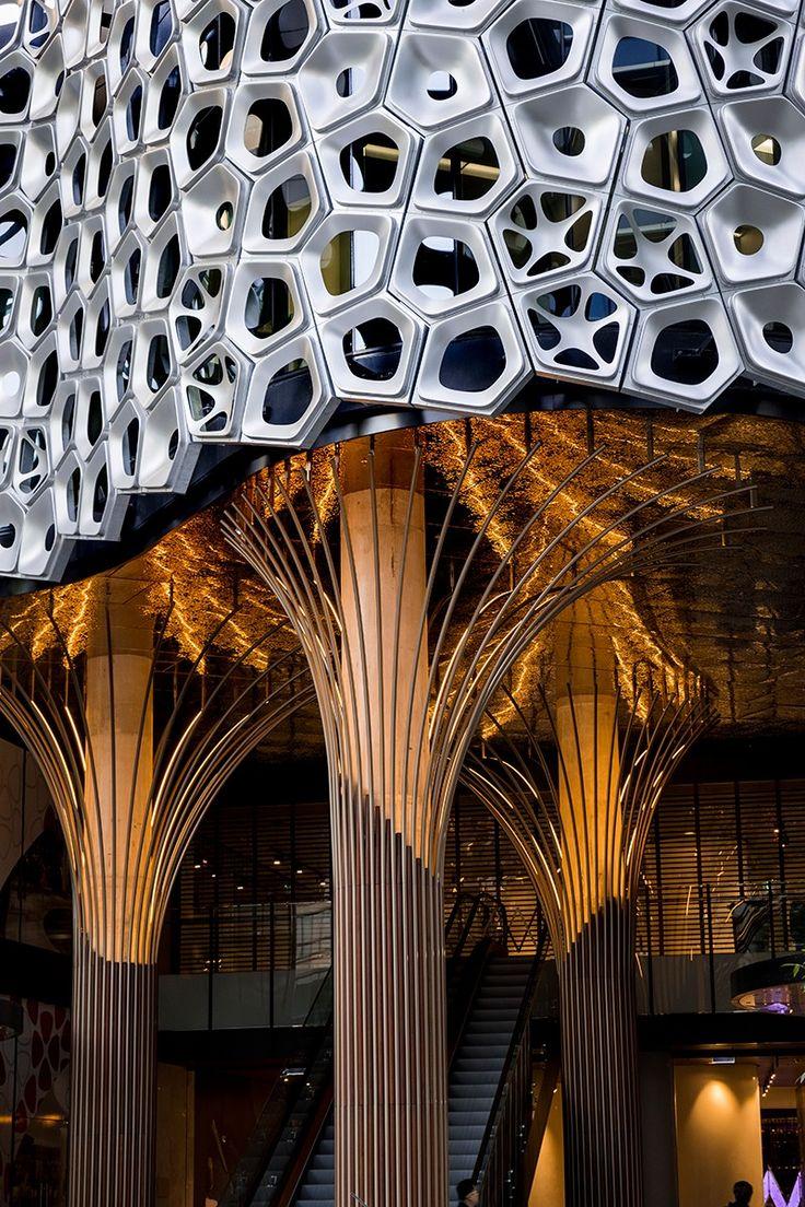 Architecture meets art in Alexander Knox's façade