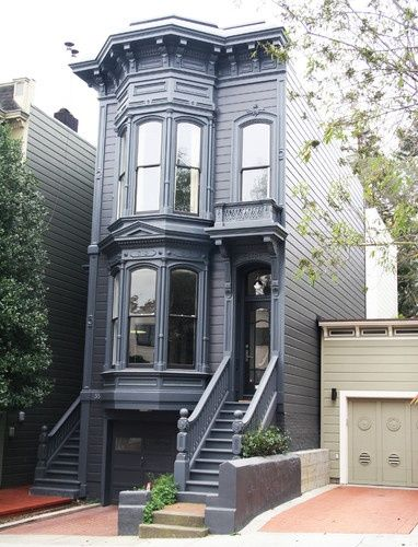 850 best images about cute tiny houses on pinterest play for Townhouse modern design exterior
