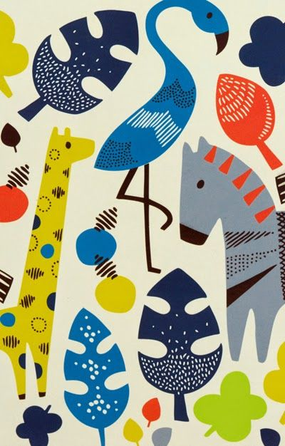 print & pattern: PAPERCHASE PREVIEW - safari park