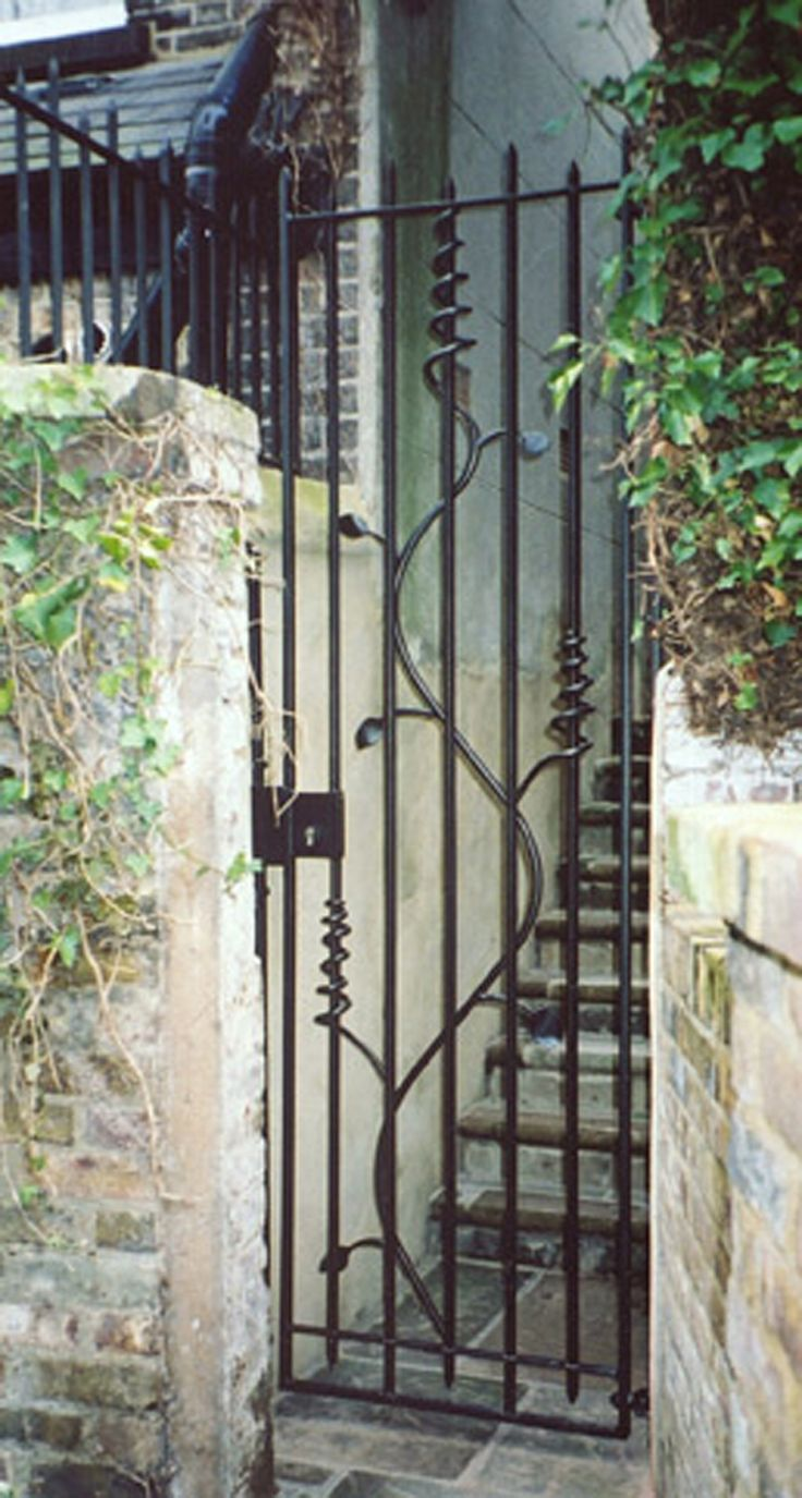 Wrought Iron Gates: 17 Best Images About Wrought Iron Gate On Pinterest