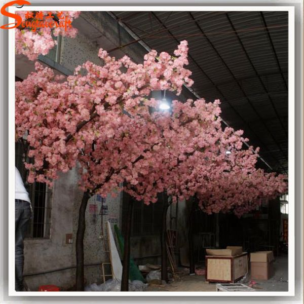 Romantic Decoration Large Artificial Blossom Tree Sakura Branches Artificial Cherry Trees Buy Blossom Trees Artificial Tree Branches Artificial Plants Decor
