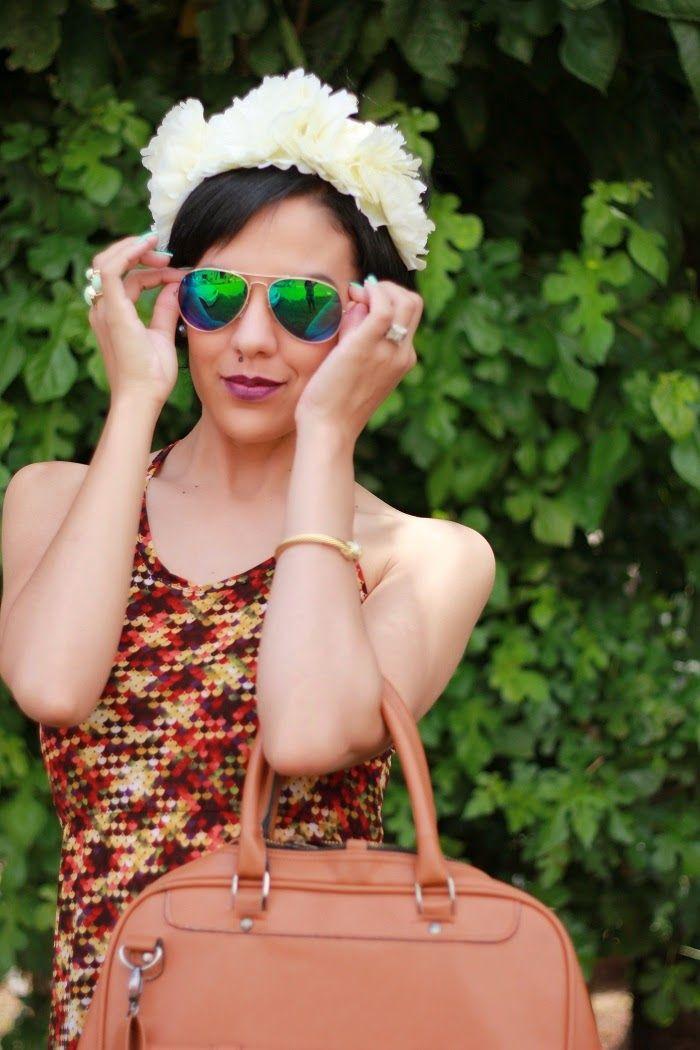 On the blog - Nastassja from Mrs Rogero shares her 'Print Maxi' look with us:  #NewBlogPost #Fashion #Jewellery