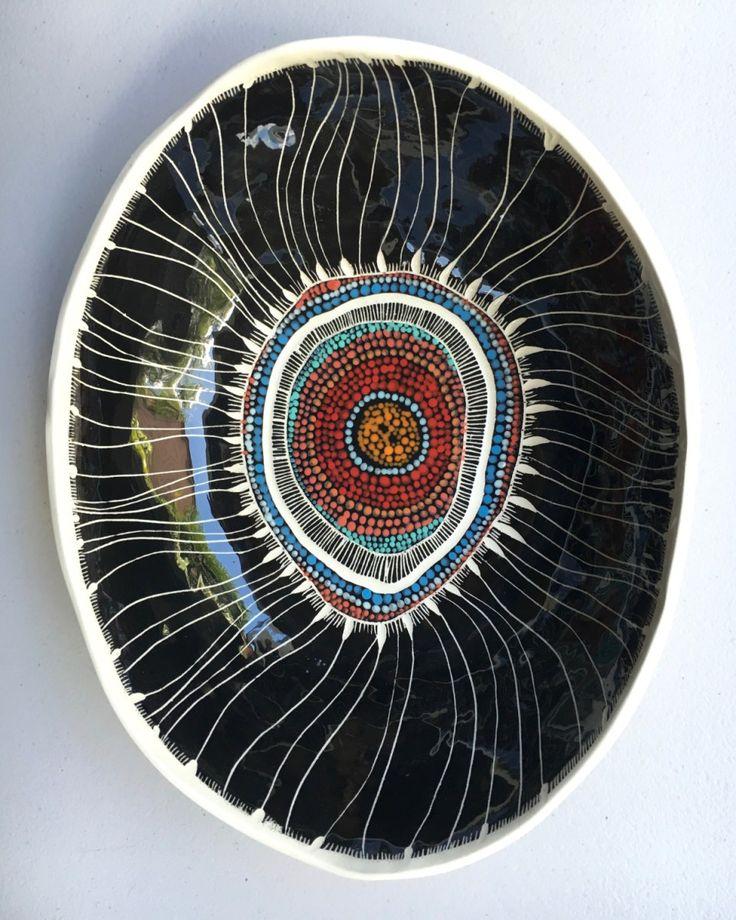 a unique handmade bowl