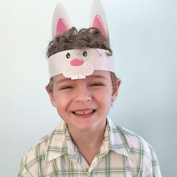 Let your kids celebrate their Easter with this fun Hippity Hoppity Party Craft Kit. This bunny hat is printed on thick cardstock paper and arrives pre-cut. Just add tape or glue to complete the project. It will be a great project with your family and children. Once assembled, you will certainly have adorable - shareable - photos! Hippity Hoppity – Easter Craft for Kids - Perfect for school and family events! - Easy size tab and slot construction to fit all sizes! - The hat will fit a head…