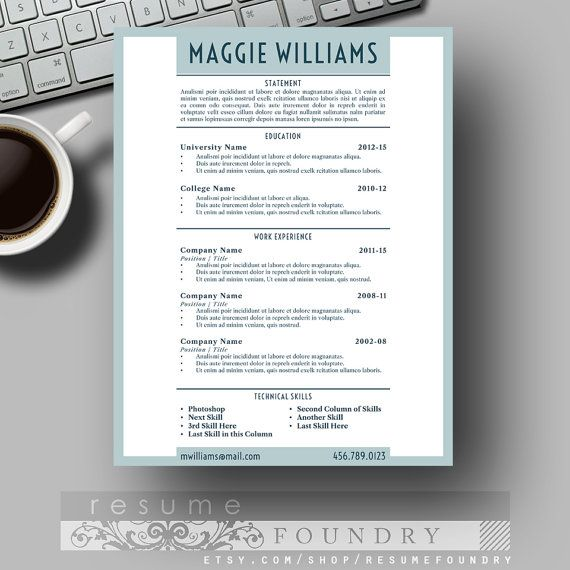 Unique Resume Templates Adorable Résumé Templates Functional Resume Perfect Resume Creative Inspiration