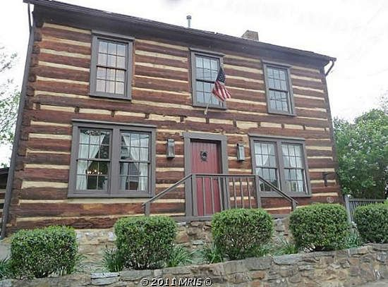 "Mount Jackson, VA This home, the oldest on the Mount Jackson real estate market, is billed as a place where ""Geo.Washington Slept."" Built in 1750, this fantastic restored log home sits on Mill Creek in the Shenandoah Valley."