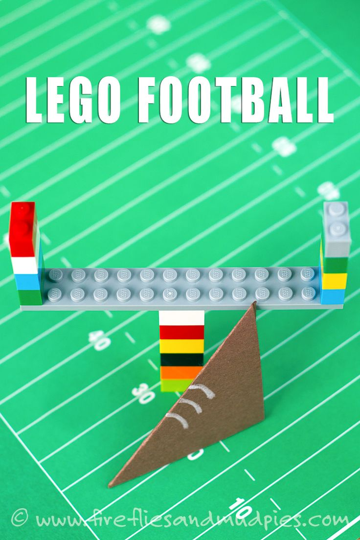 """It's Football Season! This activity  is perfect for kids during the """"big game!"""" 