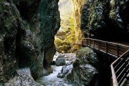 Liechtensteinklamm - Gorge in the Alps near Salzburg