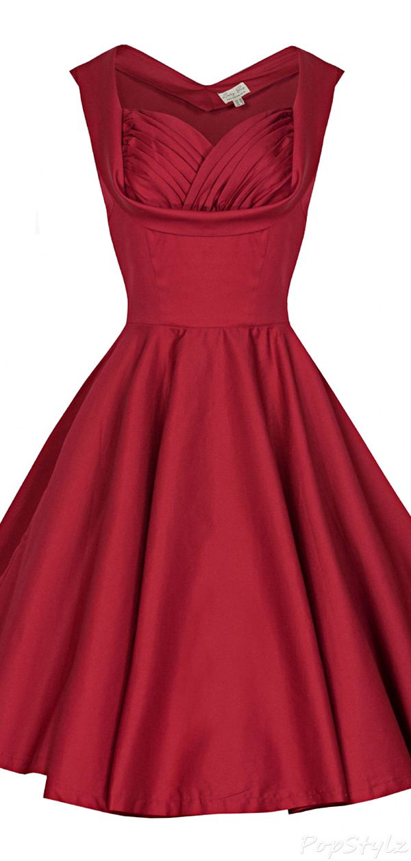 'Ophelia' Vintage 1950's Swing Dress