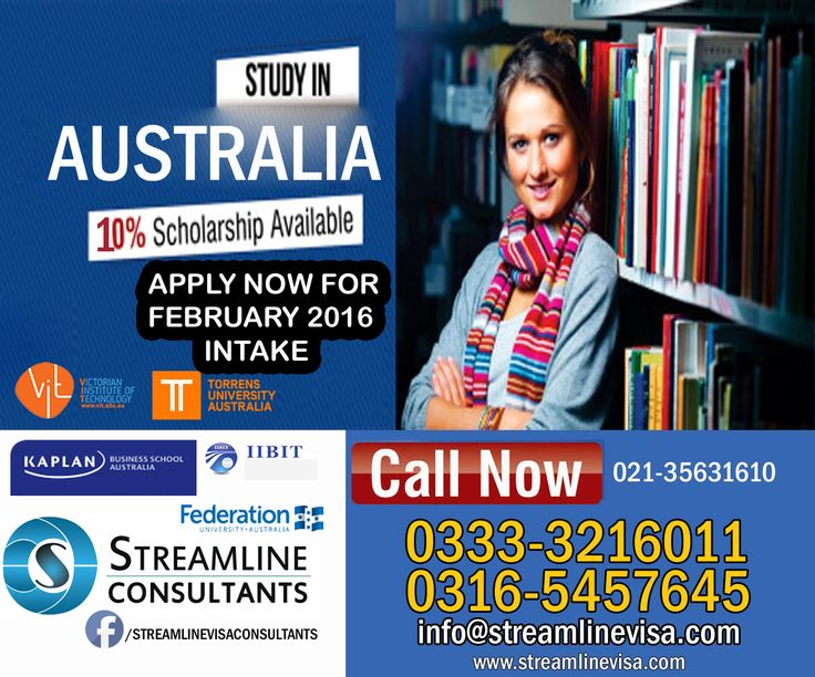 Study Abroad In #Australia Looking for an exciting manner to see the world while receiving an education as well? Then spending a college semester study abroad in Australia is the perfect choice for you. If you need any information regarding Student Visa you can contact us Complete Application process and visa guidance Visit our office for further assessment. #StreamlineConsultants #StreamlineVisaConsultants #StudentVisaConsultants #TopKarachiConsultants #ConsultancyServicesinKarachi