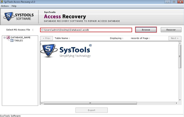 Access Recovery 1