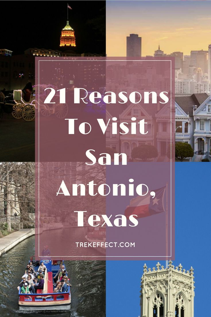 Whether you are a history junkie or someone who loves amusement parks, there are plenty of good reasons to visit this beautiful and large Texan burg. Deemed as the birthplace of Texan Liberty, San Antonio boasts a myriad of historic sites that would tell you stories of bravery and epic encounters.