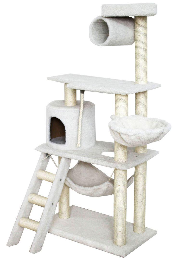 cat furniture cat climber with hammock u0026 condo - Cat Climber