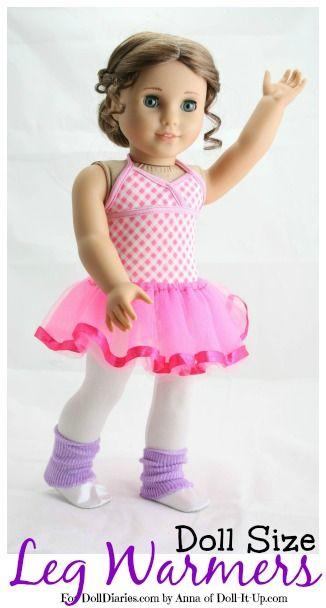 Doll Craft-Doll Size Leg Warmers