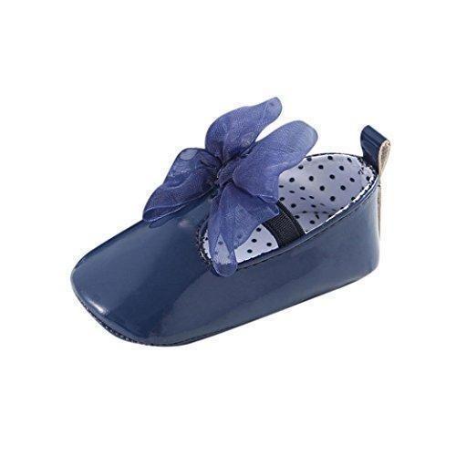 Oferta: 1.86€. Comprar Ofertas de Tefamore zapatos primeros pasos bebes de antideslizante de sole suave de moda invierno de calentar de Cartoon Nudo de arco (T barato. ¡Mira las ofertas!