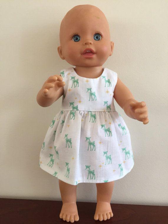 Little Deer Summer Dress by DebsDollsClothes on Etsy