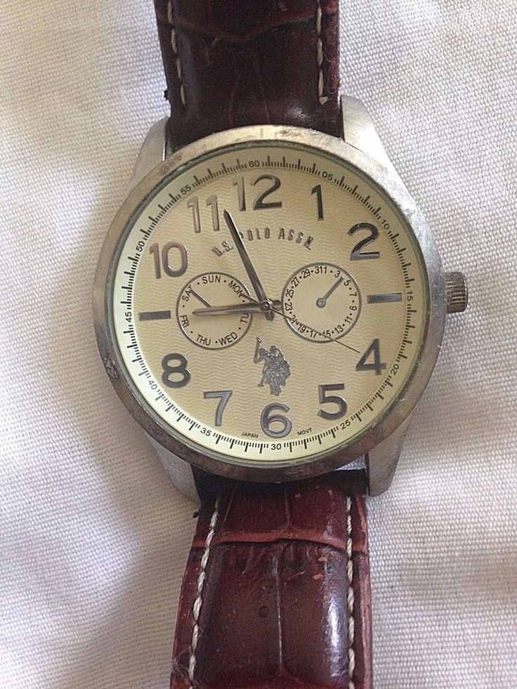 U.S. POLO ASSOCIATION LARGE MENS WATCH VINTAGE?