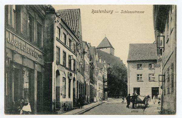 Rastenburg, Schloßstraße