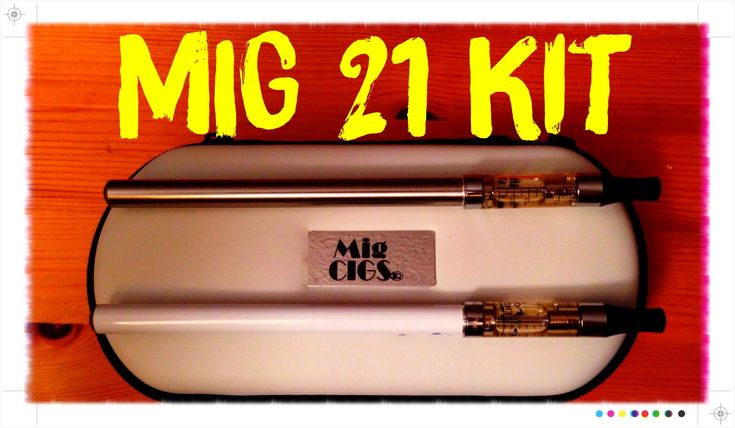 Mig 21 Kit by Mig Cigs Review - The Best E-Cig Starter Kit For Newbies!