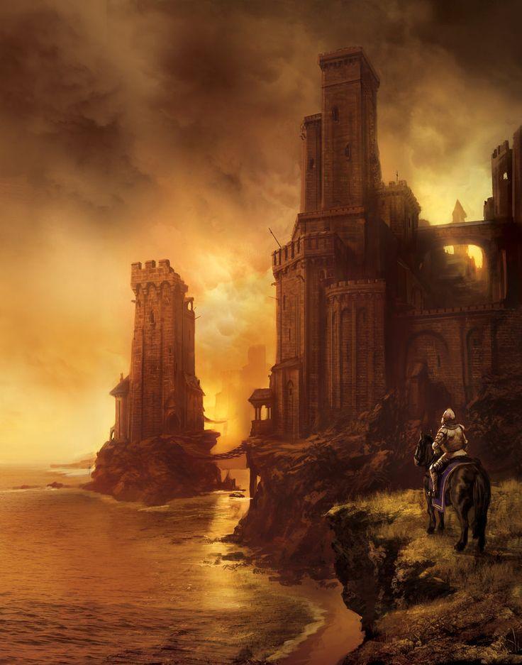 Marc Simonetti: Digital artist | cover and concept arts Greyjoy Castle