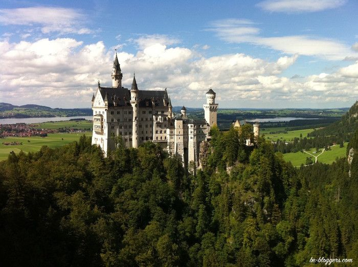 Нойшванштайн, Германия, Бавария