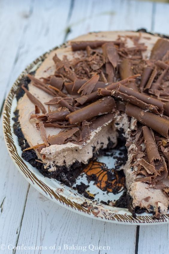 Nutty IrishMan Pie (No Bake)