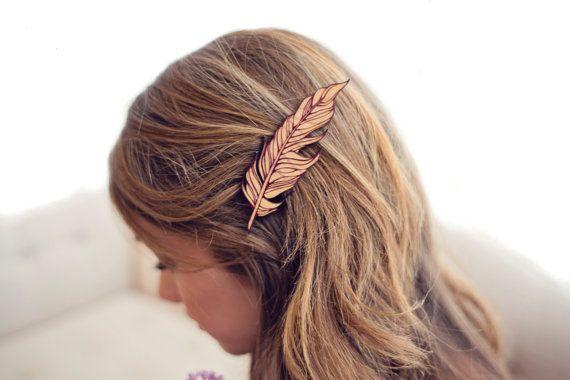 Classique et simple, pinces à cheveux bois naturel de Lucques sont laccessoire parfait pour tous les types de cheveux. Fabriqué à partir de 100 %
