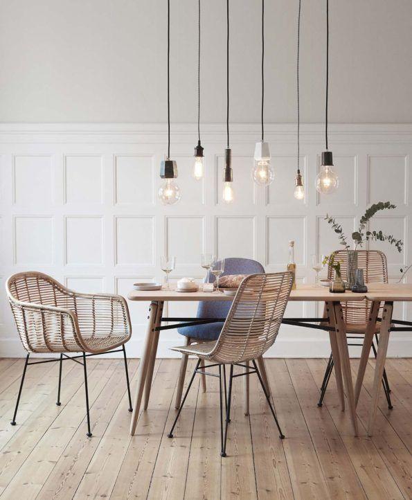 Möbler för matplatsen från Hübsch