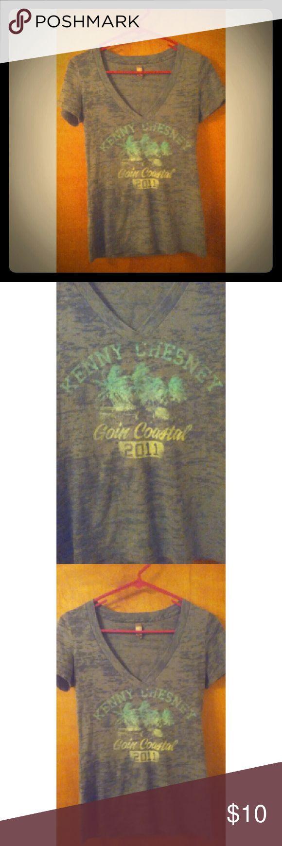 Kenny Chesney T-shirt Kenny Chesney goin coastal t shirt. Tops Tees - Short Sleeve