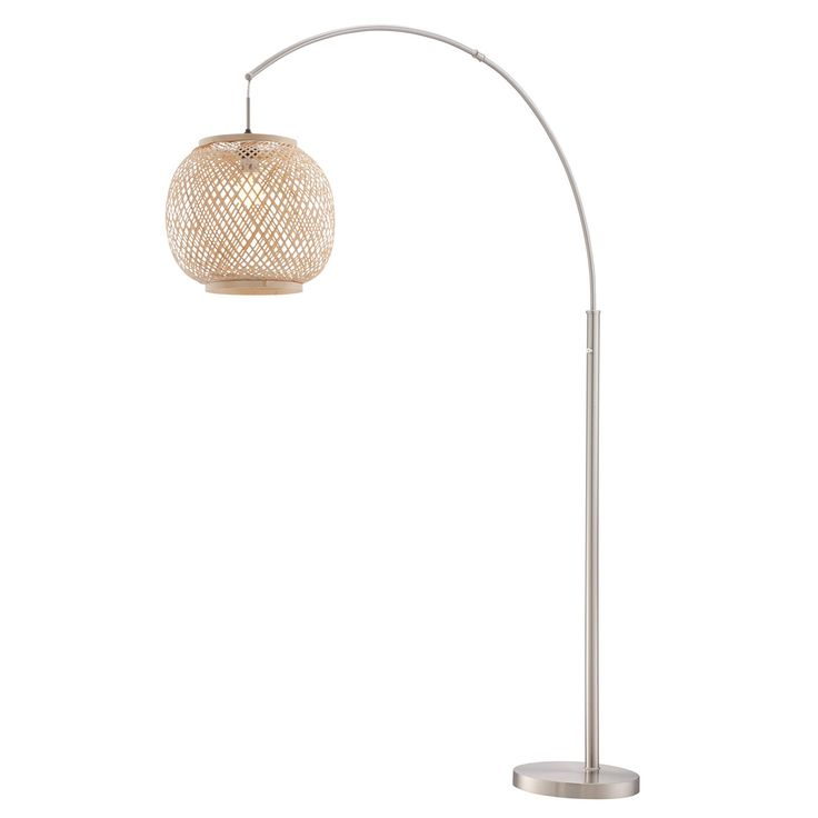 Every day is a vacation with the Villa Arch Floor Lamp! Our Villa collection's beachy chic style will make you feel like you're sitting back in tropical setting