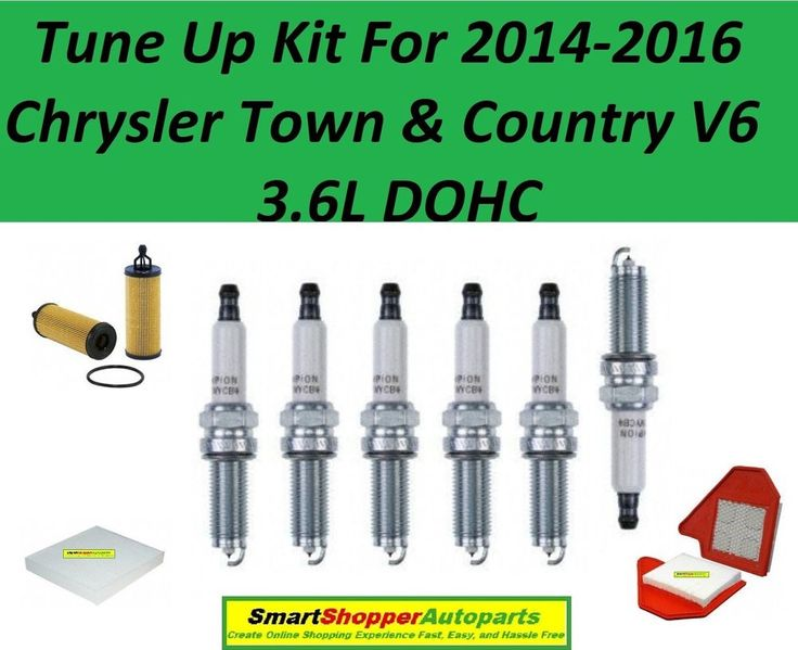 Tune Up Kit for 2014-2016 Chrysler Town & Country V6 3.6L Spark Plug, Oil Filter #AftermarketProducts